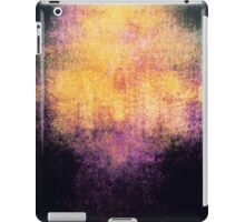 Sunset Abstract iPad Case Crazy Colors Orange Black Cool Lovely New Grunge Texture iPad Case/Skin