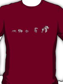 Evolution or Natural Selection ? ZIP T-Shirt
