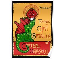 Chat Bataille Poster
