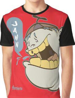 Timmy Yelling Jawn Graffiti Character Graphic T-Shirt