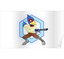 Falco Lombardi - Smash Melee/Star Fox Poster