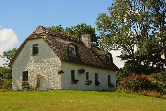 Dunguaire Cottage by Adrian McGlynn