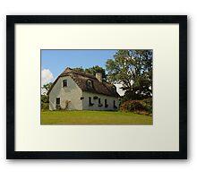 Dunguaire Cottage Framed Print