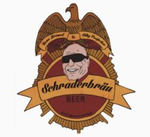 schraderbrau beer (Breaking Bad) by hazzaclothing