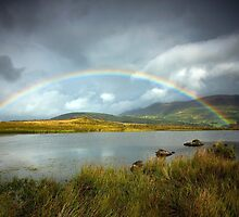 Rainbow over the Skiddaw Massif by Martin Lawrence
