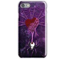 Black Widow (Purple) iPhone Case/Skin