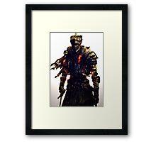 Dark souls 3 Knight Framed Print
