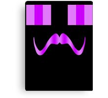 Enderstache Canvas Print