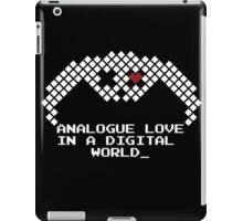 DEADBUNNEH - an·a·logue (Black) iPad Case/Skin