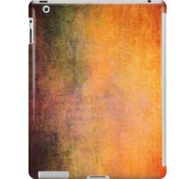 Abstract iPad Case Crazy Orange Colors Vintage Cool Lovely New Grunge Texture iPad Case/Skin
