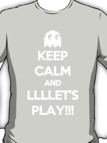 Keep Calm And Lets Play T-Shirt