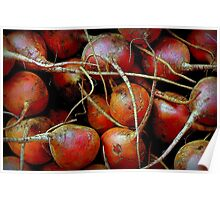 In Living Color: Beet Roots Poster