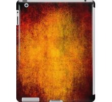 Abstract iPad Case Crazy Orange Vintage Cool Lovely New Grunge Texture iPad Case/Skin