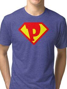 Super Monogram P Tri-blend T-Shirt