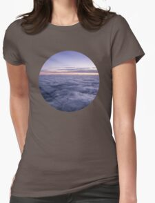 Clouds in the sky Womens Fitted T-Shirt