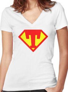 Super Monogram T Women's Fitted V-Neck T-Shirt