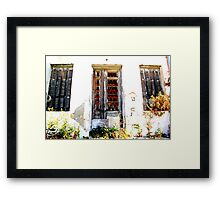 abandoned beauty Framed Print