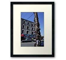 Near Little Toyko Framed Print