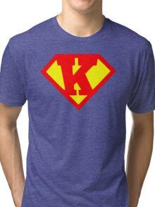 Super Monogram K Tri-blend T-Shirt