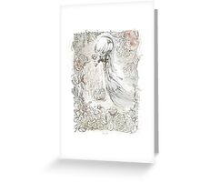 Little Soul of the Camellias by Carine-M Greeting Card