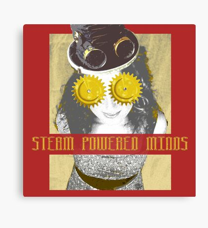 Steam Powered Minds Canvas Print