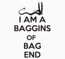 I am a Baggins, of Bag End T-Shirt