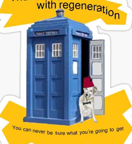 Regeneration problem Doctor ? Sticker