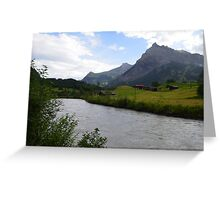 A multitude of landscapes. Greeting Card