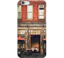 Tribeca Cafe - New York City iPhone Case/Skin