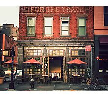 Tribeca Cafe - New York City Photographic Print