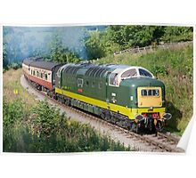 Deltic Power !!!!!!!!!!!!! Poster