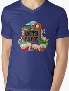 South Park Silhouette  Mens V-Neck T-Shirt
