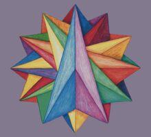 Crystalite Mandala T-Shirt - Full Color Kids Clothes