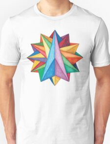 Crystalite Mandala T-Shirt - Full Color T-Shirt