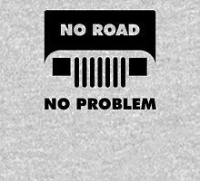 Square Light Jeep No Road No Problem Unisex T-Shirt