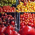 Colorful Fruit, Union Square Farmers Market, New York City by lenspiro