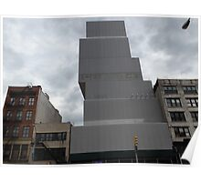 New Museum, Bowery Street, The Bowery, New York City Poster