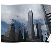New World Trade Center, Lower Manhattan, New York City  Poster