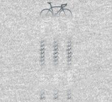 Bike Silver One Piece - Long Sleeve