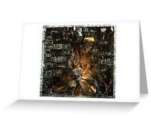 Ecce Homo 139 - HOMS - a state of hell Greeting Card
