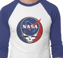 Steal Your Space Men's Baseball ¾ T-Shirt