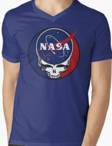 Steal Your Space Mens V-Neck T-Shirt