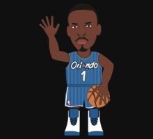 NBAToon of Penny Hardaway, player of Orlando Magic by D4RK0