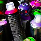 Spray Cans by CodyNorris