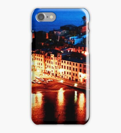 Vernazza By Night iPhone Case/Skin