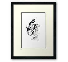 Johnny B. Goode Framed Print