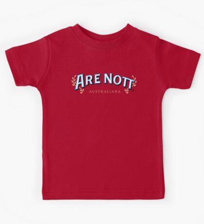 Are Nott Australiana Kids Tee