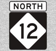 NC 12 - NORTH  Baby Tee