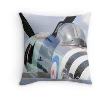 Sea Fury Throw Pillow