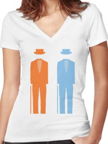 Dumb and Dumber 2 Women's Fitted V-Neck T-Shirt